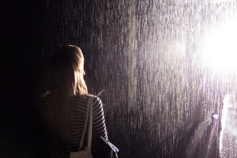 rAndom international's Rain room